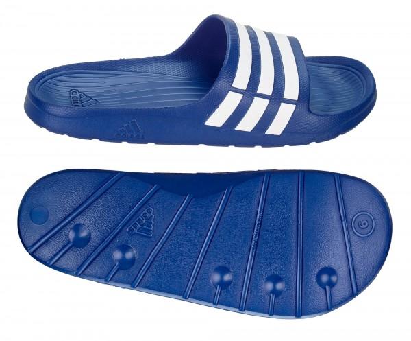adidas DURAMO SLIDE Adilette blau/weiß (G14309)