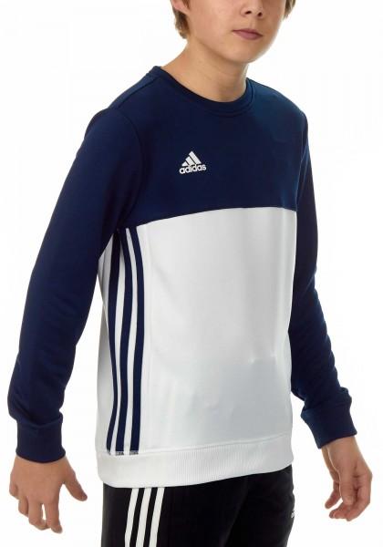 adidas T16 Team Sweater Kids navy blau/weiß AJ5266
