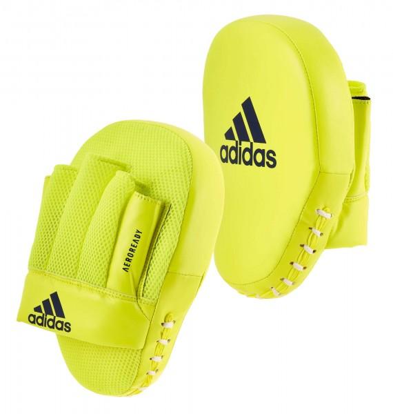 adidas Speed Coach Paar-Pratzen, gelb/blau ADISBAC014