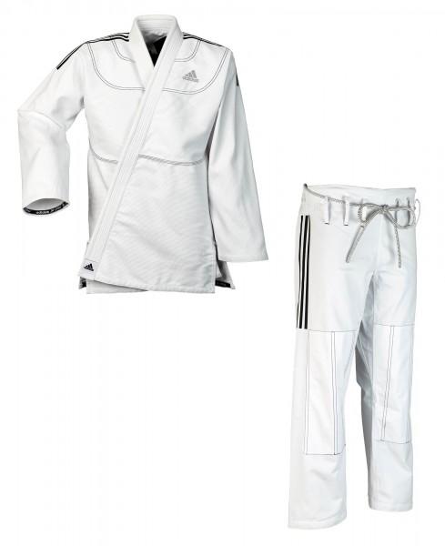 "adidas BJJ Anzug ""Contest 2.0"" weiß JJ430"