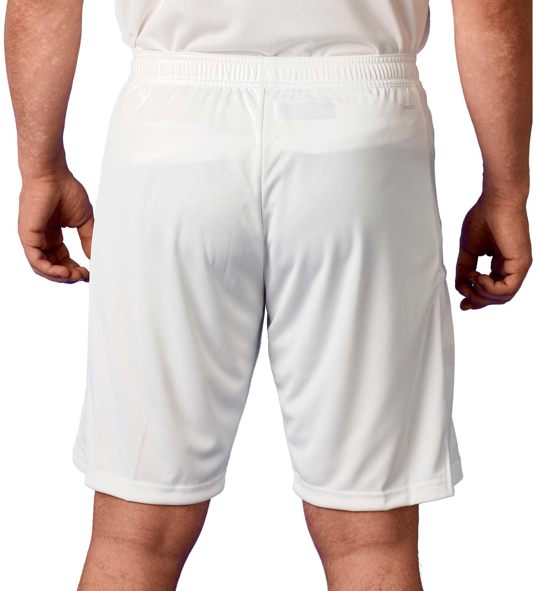 adidas T19 Knee Shorts Männer weiß, DW6865