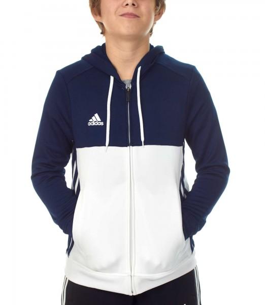 adidas T16 Team Hoodie Kids navy blau /weiß AJ5400