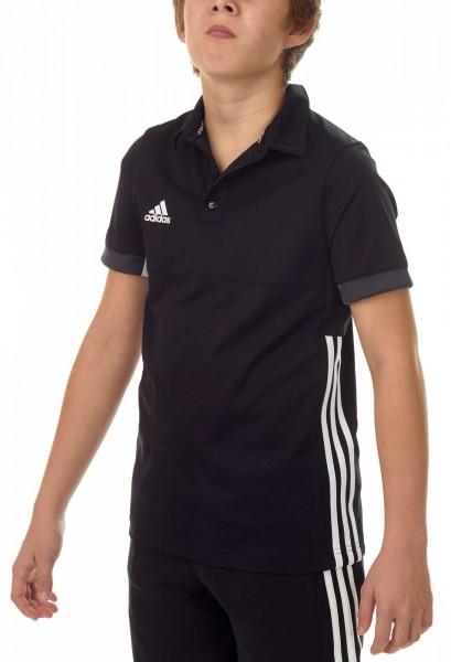 adidas T16 Team Polo Kids schwarz /weiß AJ5245