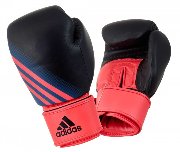 adidas Damen-Boxhandschuhe Speed Women 200, black/shock red, ADISBGW200