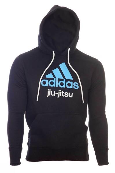adidas Community line Hoody BJJ schwarz/blau