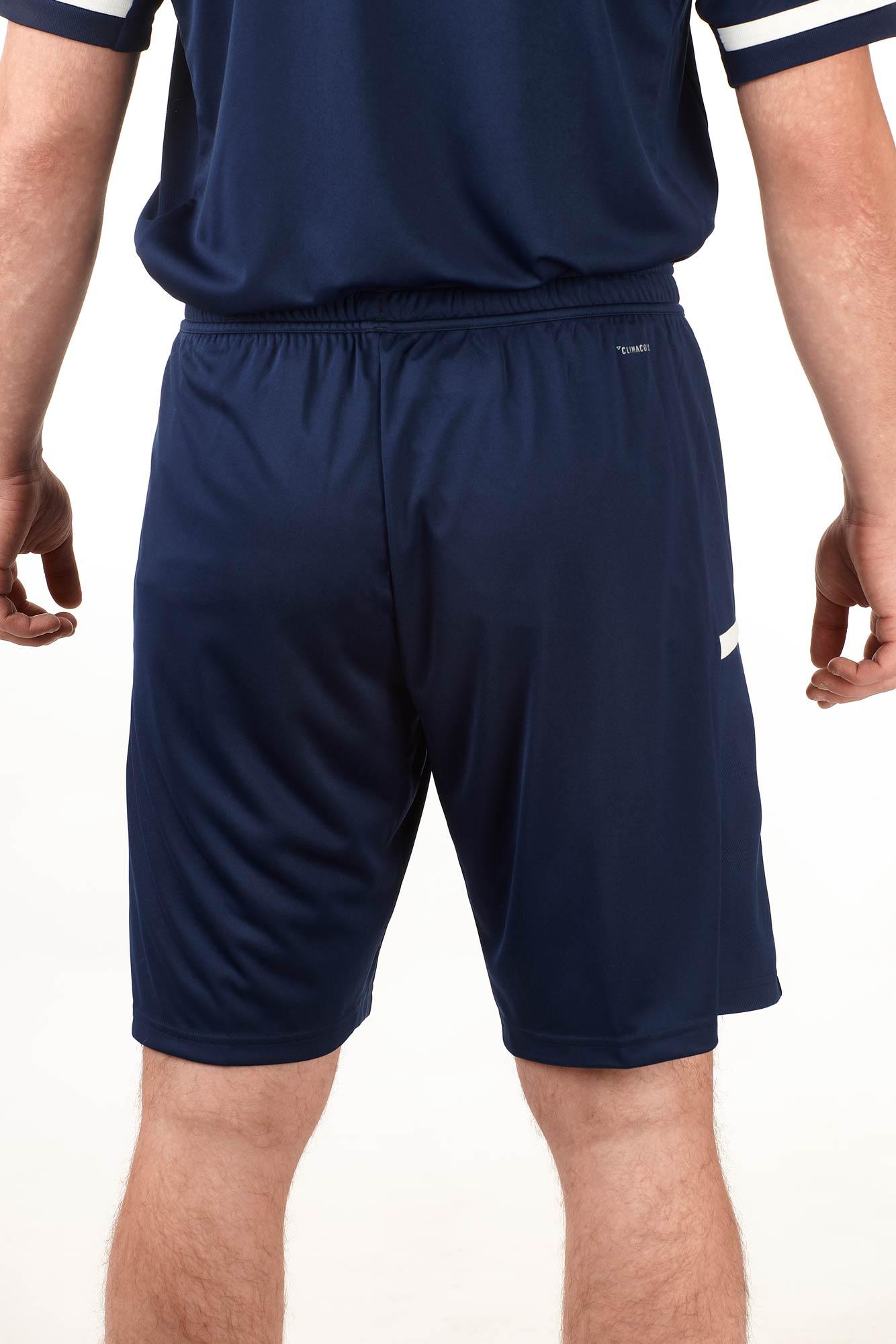 adidas T19 Knee Shorts Männer blauweiß, DY8826