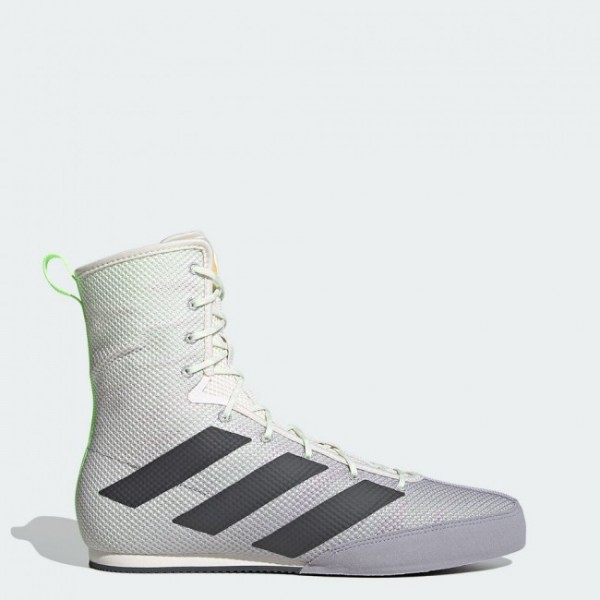 adidas Boxschuhe Box Hog 3 white/grey/green - FV6584