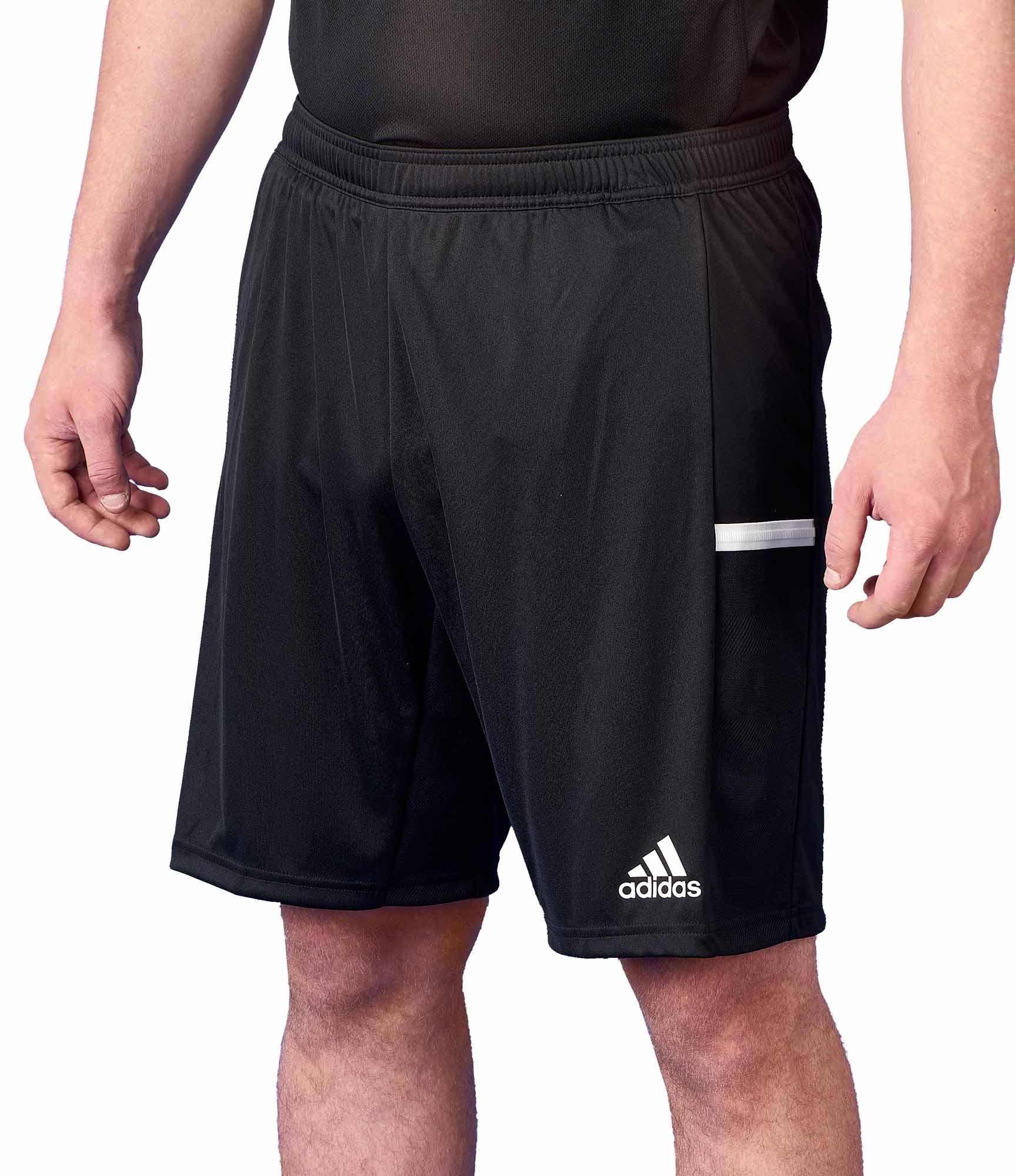 adidas T19 Knee Shorts Männer schwarzweiß, DW6864