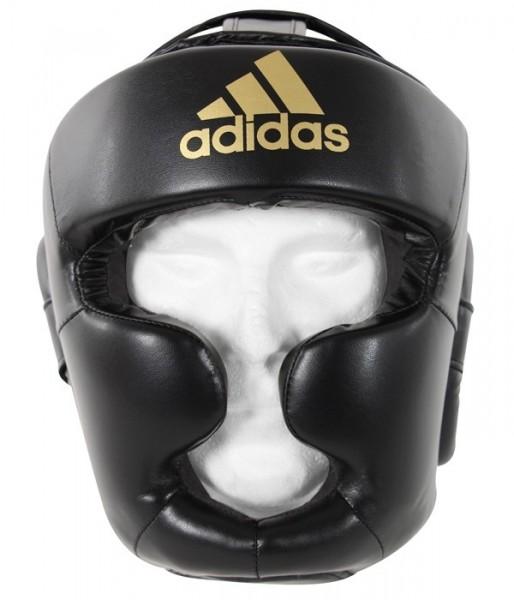 adidas Kopfschutz Speed Super Pro schwarz/gold, ADISBHG041