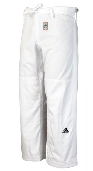 adidas Judo-Hose IJF weiß, JT275