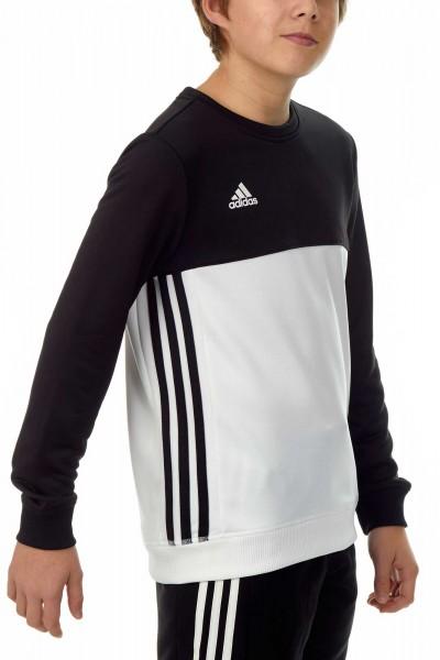 adidas T16 Team Sweater Kids schwarz / weiß AJ5265