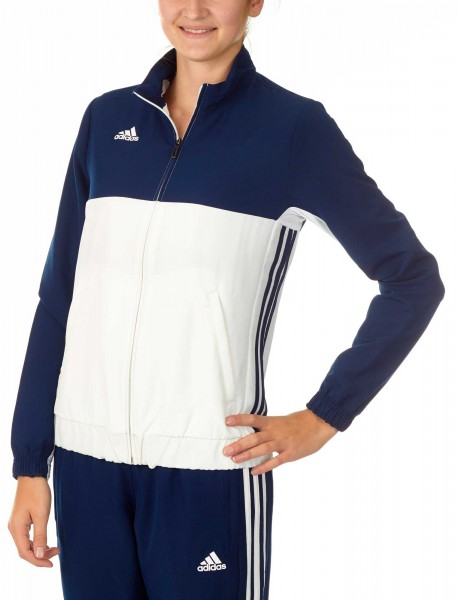 adidas T16 Team Jacket Damen navy blau/weiß, AJ5327