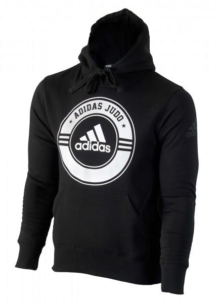 "adidas Community line Hoody Judo ""Circle"" black/white, adicsh05J"