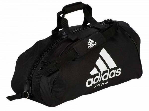 "adidas Sporttasche ""Judo"" black/white Nylon, adiACC055"