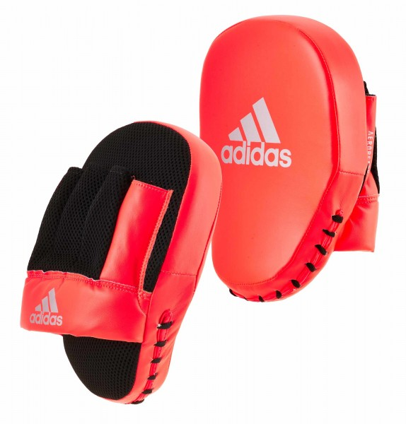 adidas Speed Coach Paar-Pratzen, rot/silber ADISBAC014
