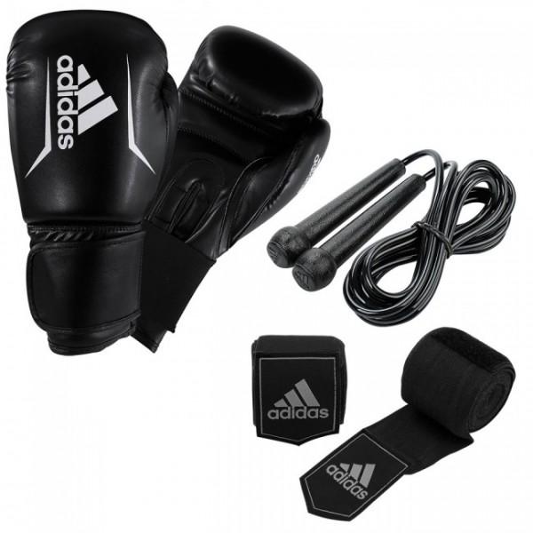 adidas Boxing Set ADIBPKIT04, Handschuhe/Seil/Bandagen