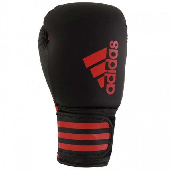 adidas Boxhandschuhe Hybrid 50, schwarz/rot, ADIH50