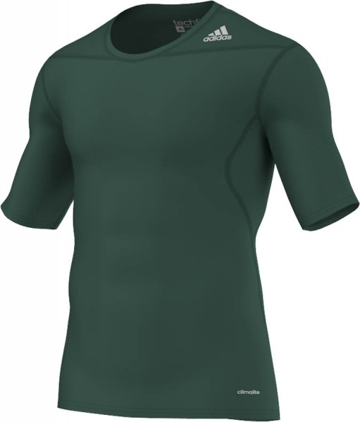 adidas Techfit Base Shortsleeve grün (D82095)