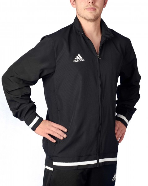 adidas T19 Woven Jacket Männer schwarz/weiß, DW6876