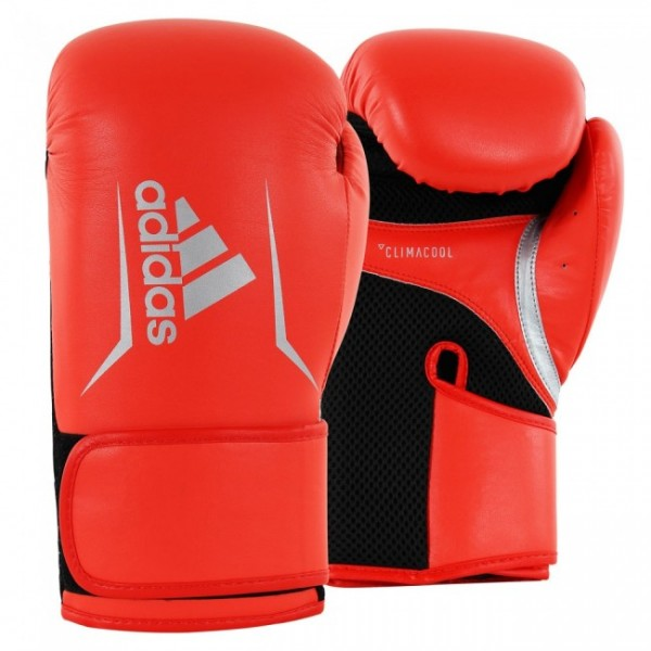 adidas Boxhandschuhe Speed 100, ADISBG100 solar red/silver