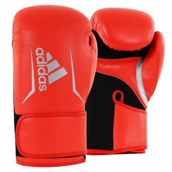 adidas Boxhandschuhe Speed 100, ADISBG100 solar red/silver