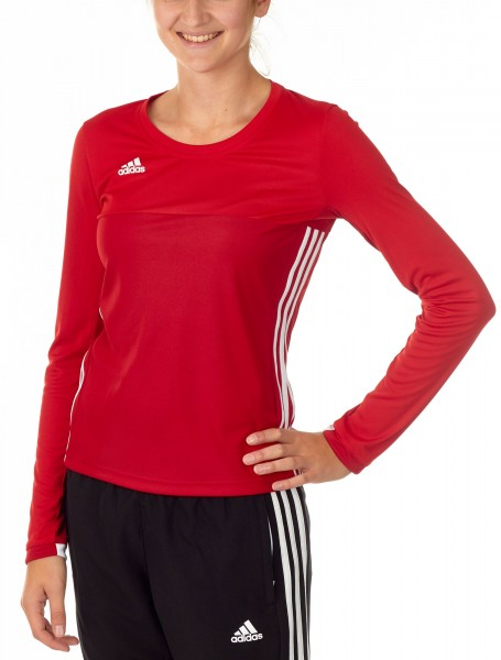 adidas T16 Clima Cool Longsleeve Mädchen power rot/scarlet rot AJ5252