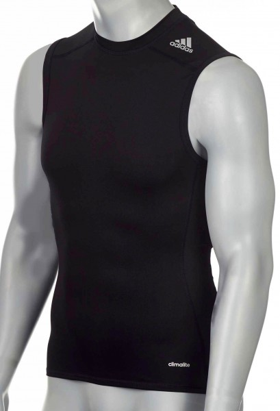 adidas Techfit TF BASE Sleeveless schwarz, AJ4957