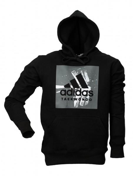"adidas Community line Hoody Taekwondo ""Crash"" black, ADITGH02"