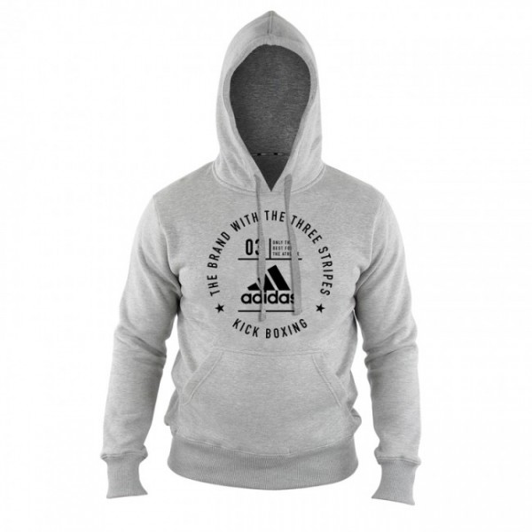 adidas Community Line Hoody Kickboxing grey/black, adiCL02KB
