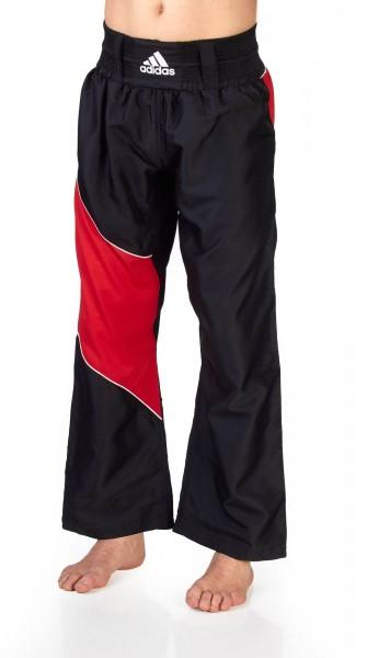 adidas Kickbox-Hose schwarz/rot ADITU010T
