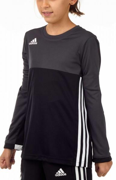 adidas T16 Clima Cool Longsleeve Mädchen schwarz/grau AJ5250