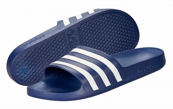 adidas Adilette Aqua navy blau (F35542)