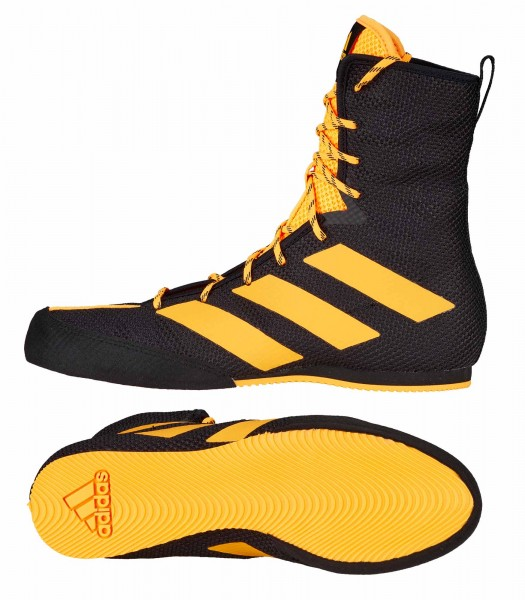 adidas Boxschuhe Box Hog 3 black/gold, FZ5307