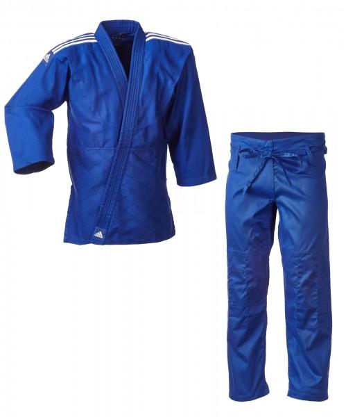 """adidas Judo-Anzug """"Club"""" blau/weiße Streifen, J350B"""