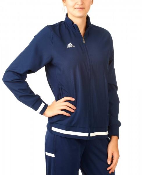 adidas T19 Woven Jacket Damen blau/weiß, DY8796