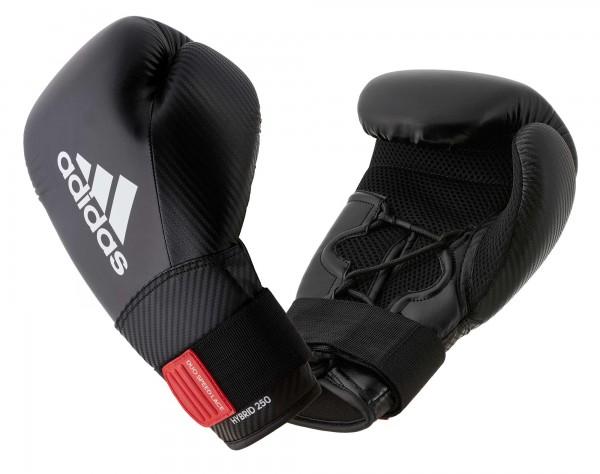 adidas Boxhandschuhe Hybrid 250, schwarz/weiß, adiH250TG