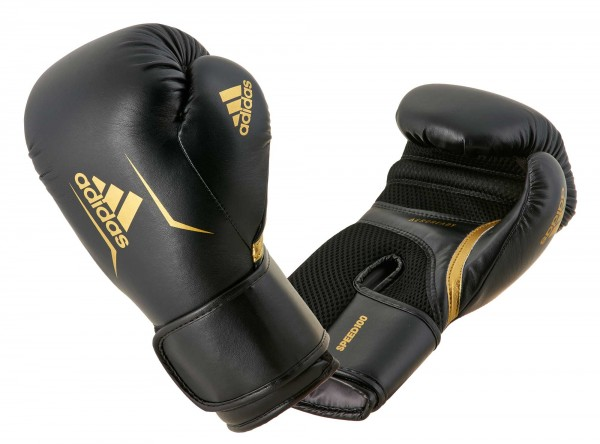 adidas Boxhandschuhe Speed 100, ADISBG100 black/gold