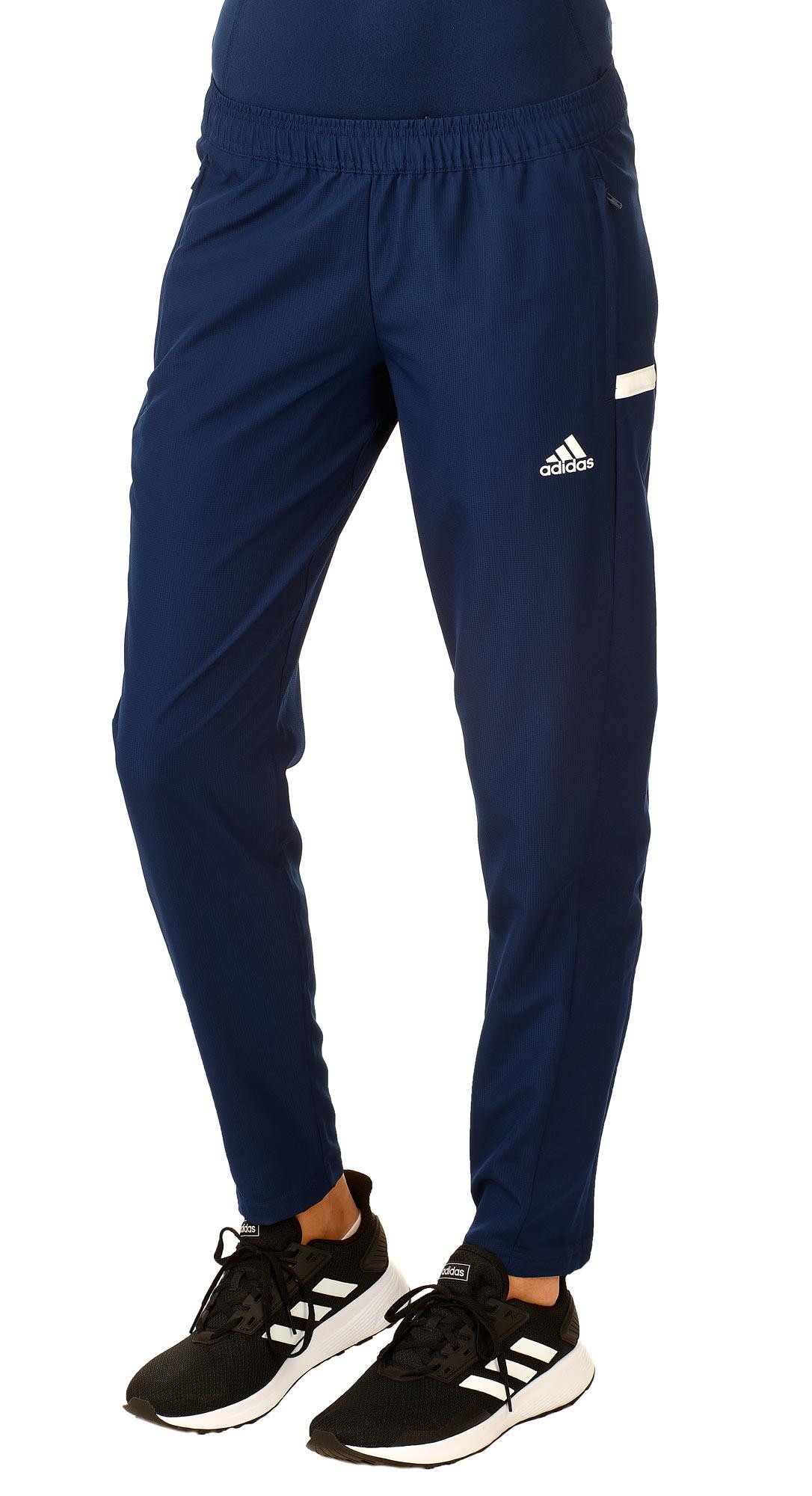 adidas T19 Woven Pants Damen blauweiß, DY8807