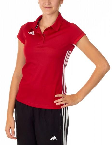 adidas T16 Team Team Polo Damen power rot /weiß AJ5275