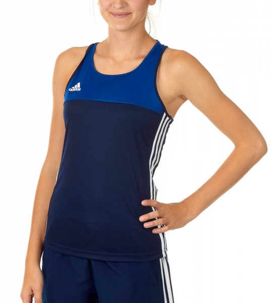 adidas T16 Clima Cool Tank Damen navy blau/royal blau AJ5454