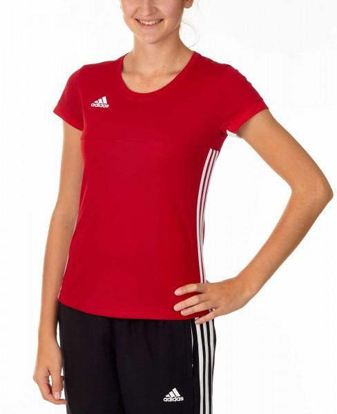 adidas T16 Team Team Tee Damen power rot /weiß AJ5303