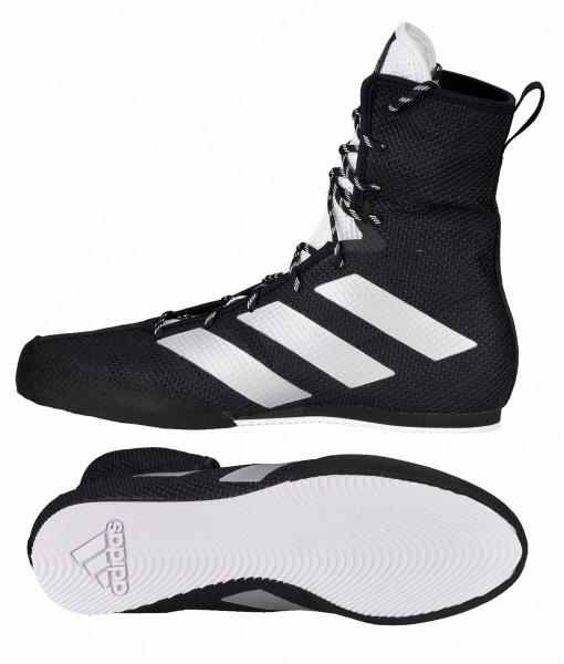 adidas Boxschuhe Box Hog 3 black/silver/white, FX0563