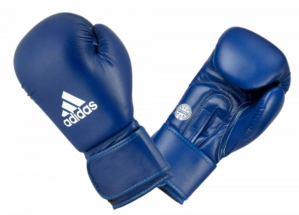 adidas WAKO Kickboxing Training Glove blau 10oz. ADIWAKOG2
