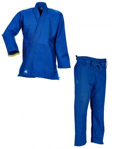 "adidas BJJ Anzug ""Challenge 2.0"" blau JJ350B"