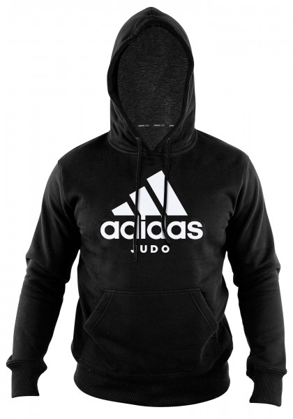 "adidas Community line Hoody Judo ""Performance"" black/white, ADICHJ"