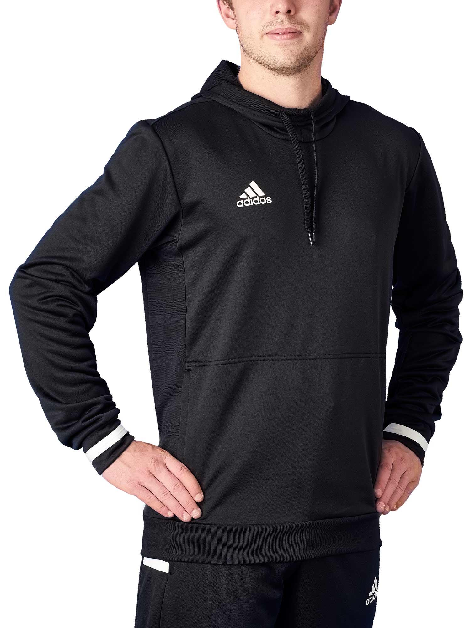 zeitloses Design 91f28 62072 adidas T19 Hoodie Männer schwarz/weiß, DW6860