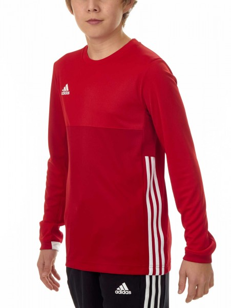 adidas T16 Clima Cool Longsleeve Jungen power rot/scarlet rot AJ5238