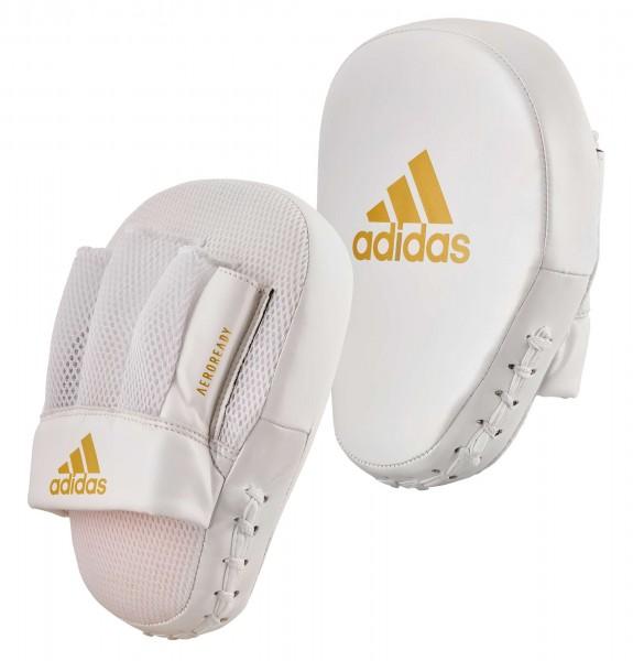 adidas Speed Coach Paar-Pratzen, weiß/gold ADISBAC014