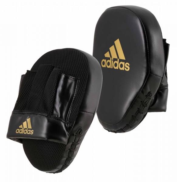 adidas Speed Coach Paar-Pratzen, schwarz/gold ADISBAC014