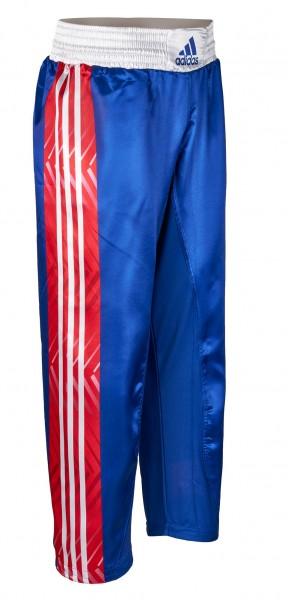 adidas Kickbox-Hose blau/rot/weiß, adiKBUN300T